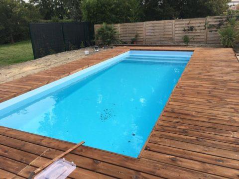 Publications la une suivez nos chantiers de piscines for Piscine de blanquefort